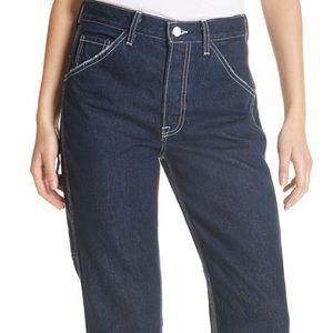GRLFRND Janice Carpenter Straight leg jeans